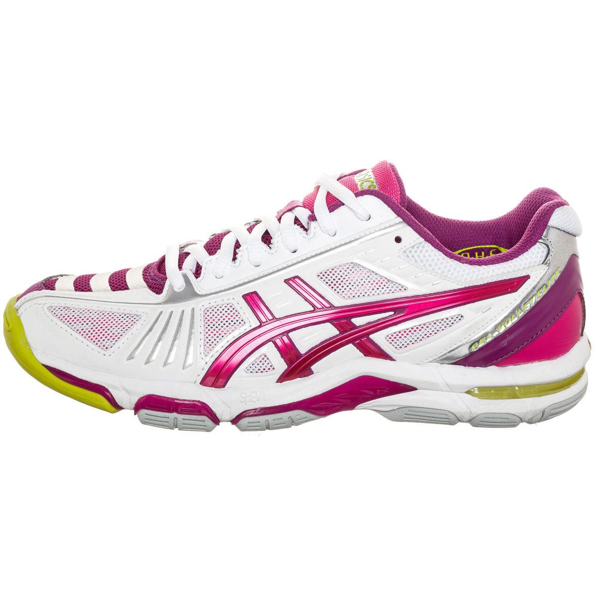 Asics GEL-VOLLEY ELITE 2 Кроссовки волейбольные женские pink