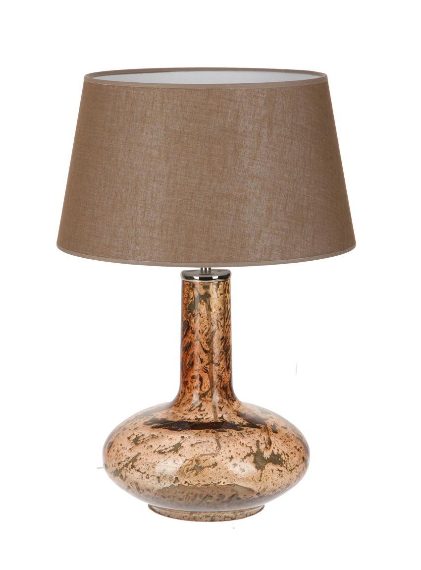 Лампы настольные Элитная лампа настольная Glow Vulkanic Brown от Crisbase elitnaya-lampa-nastolnaya-3181-brown-ot-crisbase-portugaliya.jpg