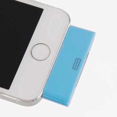 Аудиоадаптер 30pin - 8pin для iPhone (Фиолетовый)