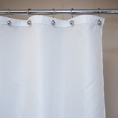 Защитная шторка для ванной 240х200 Arti-Deco Liso White