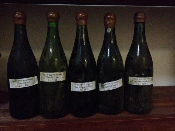 Донские вина из подвалов института виноделия и виноградарства им.Потапенко