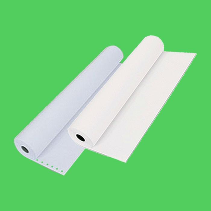 Бумага ЛПУ 210х70х18 в рулоне, без перф.