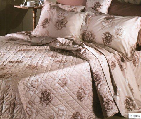 Постельное белье 2 спальное евро Caleffi Rosa