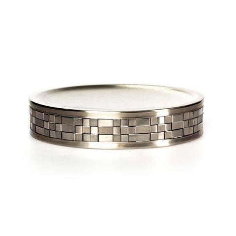 Мыльница Basketweave Silver от Avanti