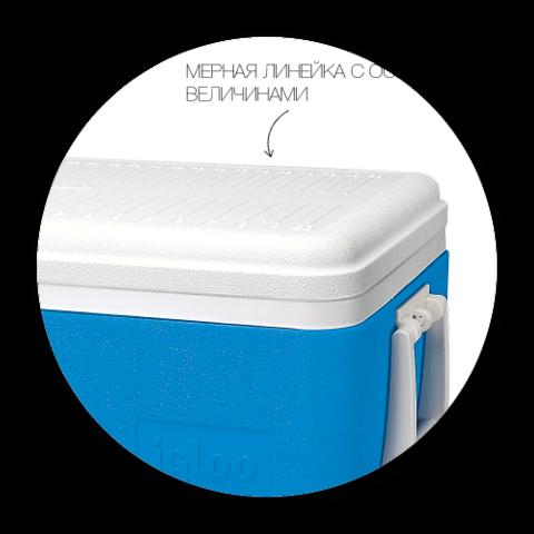 Изотермический пластиковый контейнер Igloo Family 52