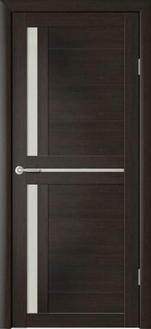 Дверь Фрегат ALBERO Кельн, стекло матовое, цвет кипарис тёмный, остекленная