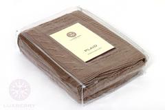 Элитный плед -покрывало Imperio 233 табачный от Luxberry