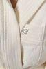 Элитный халат махровый Crociera кремовый от Blumarine