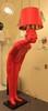 торшер  Сhina man красный