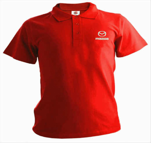 Рубашка поло с логотипом MAZDA