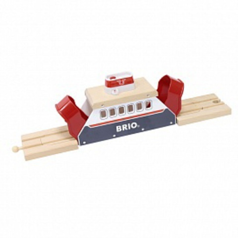 33569 BRIO Паром для перевозки поездов и машин со световыми и звуковыми эффектами, на батарейках