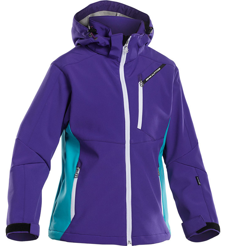 Куртка лыжная 8848 Altitude Apex JR Softshell Purple детская