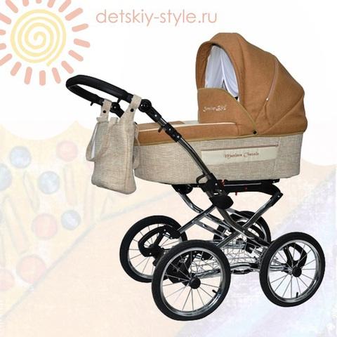 """Коляска Stroller B&E """"Maxima Classic"""" (Люлька)"""