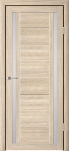 Дверь Фрегат ALBERO Рига, стекло матовое, цвет лиственница мокко, остекленная