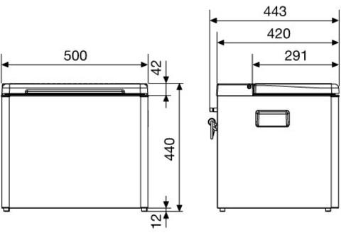 Автохолодильник Waeco CombiCool RC 1600 EGP
