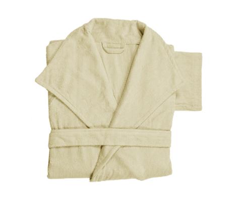 Элитный халат махровый Waterside слоновая кость от Hamam