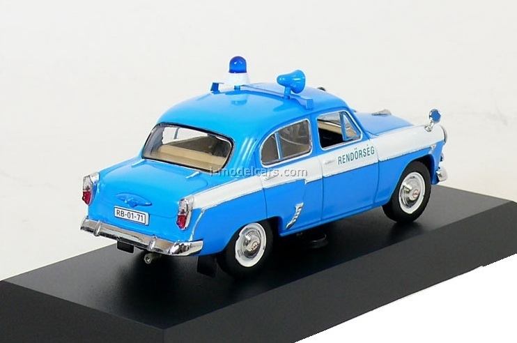 Moskvich-407 Budapeste Police Hungary 1959 IST045 IST Models 1:43