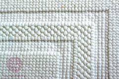 Коврик для ванной 55х75 Luxberry Универсальный белый