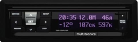 Универсальный бoртовой компьютер Multitronics RI-500