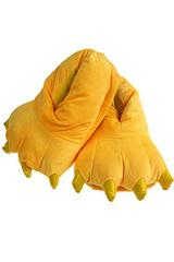 Тапки-лапки желтые