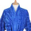 Элитный халат-кимоно велюровый Zebrona голубой от Roberto Cavalli