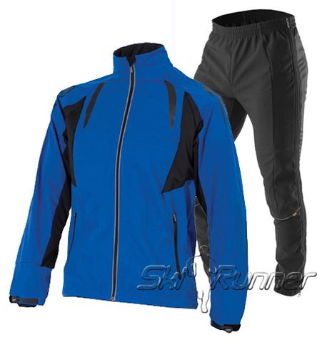 Лыжный разминочный костюм One Way - Stephen унисекс синий