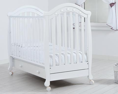 Детская кроватка Гандылян Джузеппе колесо