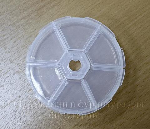 Пластиковый контейнер круглый 79х19 мм