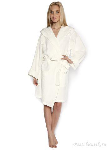 Элитный халат и косметичка Viaggio St. Tropez кремовый от Blumarine
