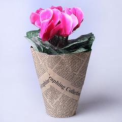 Композиция газета цветы 23 см 620261
