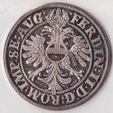 1624 год Германия 12 талера, Ag-1000, 14,63 гр. Рестрайк Новодел 1977 года