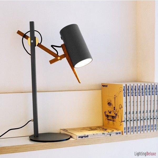 лампа SCANTLING  черная