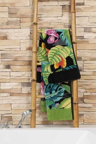Элитный плед шенилловый Rainforest 195 blattgrün от Feiler