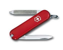 Нож-брелок Victorinox Classic Escort, 58 мм, 6 функ, красный  (0.6123)