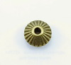 Бусина металлическая - спейсер (цвет - античная бронза) 9х5 мм, 10 штук