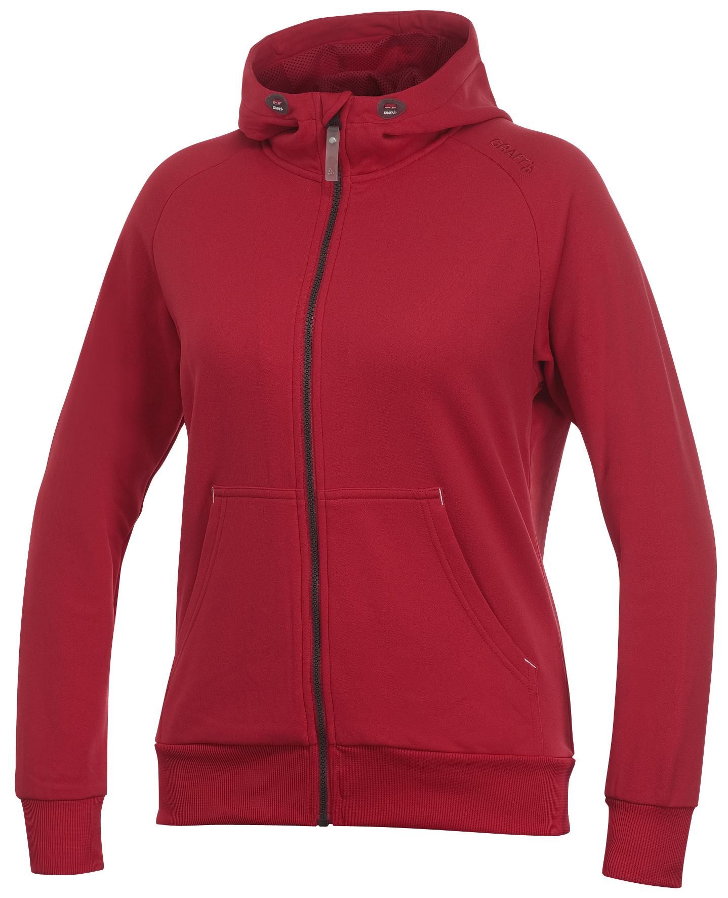 192477-1430 Толстовка Craft Flexhood женская красная