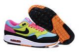Кроссовки женские Nike Air Max 87 Blue Black Yellow Pink