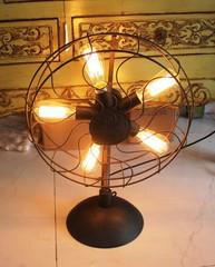 лампа вентилятор  винтаж 01-11 ( by Funky Vintage )