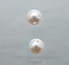 5818 Хрустальный жемчуг Сваровски Crystal White круглый с несквозным отверстием 8 мм, 2 штуки