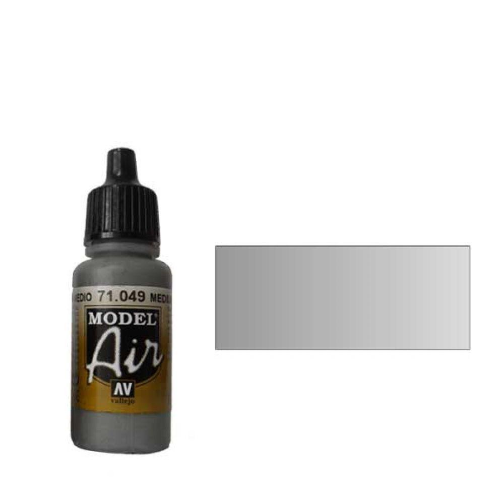 049 Краска Model Air Цв. морской волны средний (Medium Sea Grey) укрывистый, 17мл