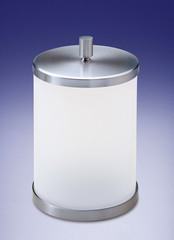 Ведро для мусора с крышкой Windisch 89114MCR Plain Crystal