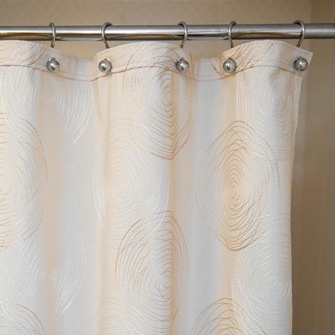 Элитная шторка для ванной 180х200 Melany Natural от Arti-Deco