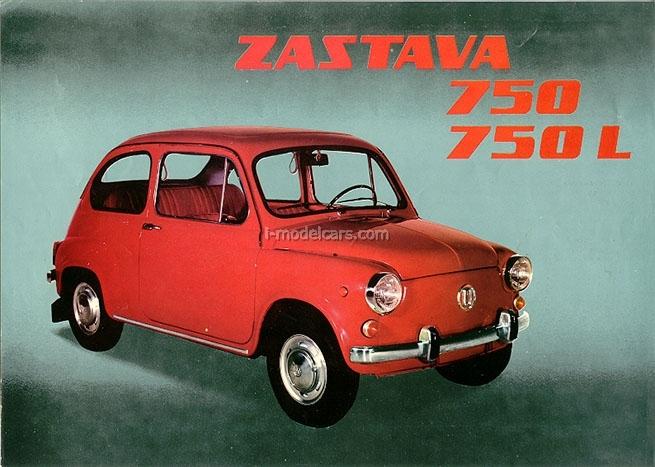 Zastava 750 1:43 DeAgostini Auto Legends USSR #178