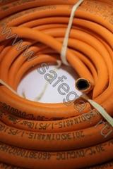 Шланг газовый морозостойкий 9мм. (оранжевый)
