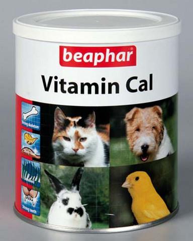 12503 Беафар Vitamin Cal Витаминная смесь для укрепления иммунитета д/собак и кошек 500гр*6