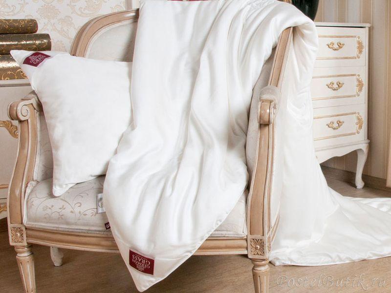 Элитное одеяло шелковое 220х240 Luxury Silk от German Grass