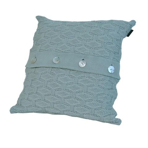 Элитная подушка декоративная Ponte Vecchio светло-зеленая от Casual Avenue