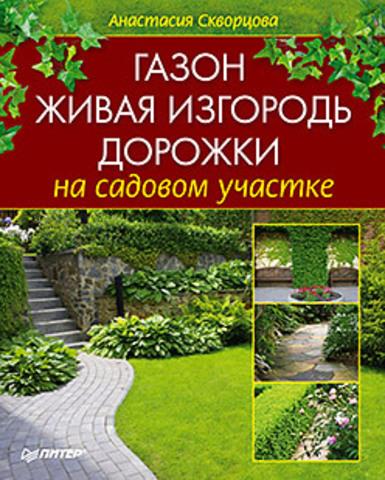 Газон, живая изгородь, дорожки на садовом участке