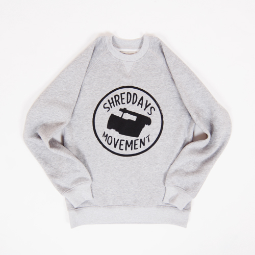 Толстовка Anteater crewneck SHREDDAYS