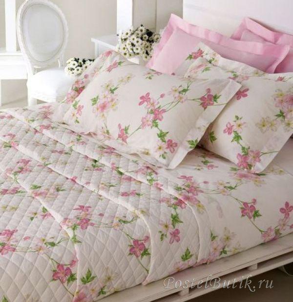 Комплекты Постельное белье 1.5 спальное Mirabello Vine Flowers розовое elitnoe-postelnoe-belie-vine-flowers-ot-mirabello.jpg